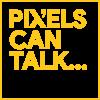 pixel logo for portfolio