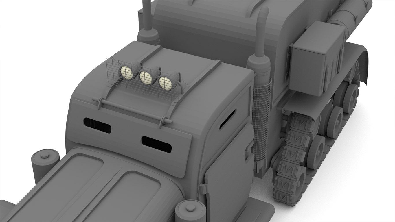 pixels can talk 3d pixel armoured truck 01