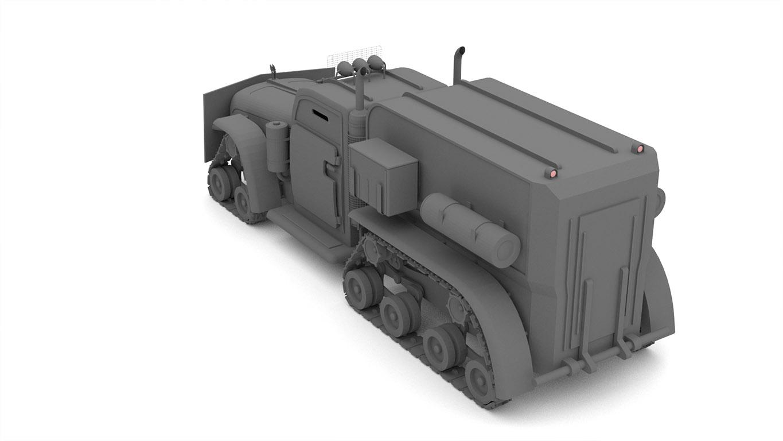 pixels can talk 3d pixel armoured truck 02