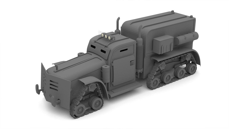 pixels can talk 3d pixel armoured truck 03