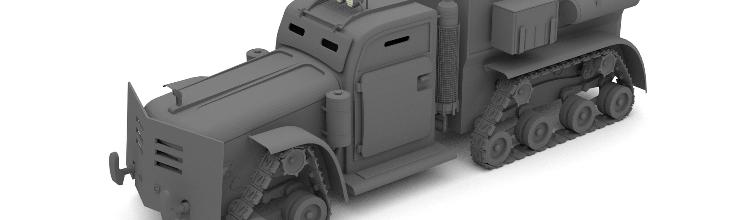 pixels can talk 3d pixel armoured truck big
