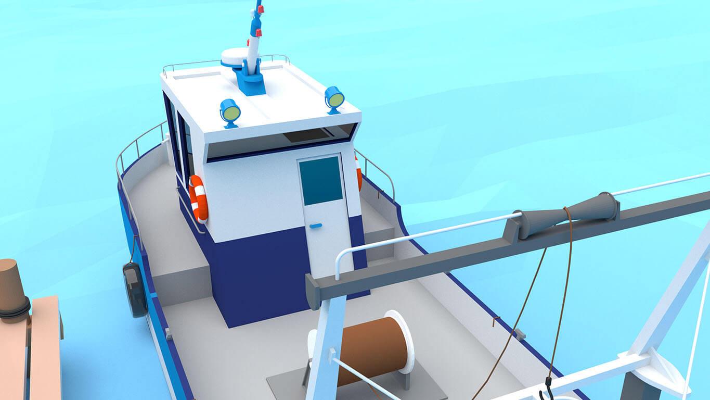pixels can talk 3d pixel shrimp trawler 01