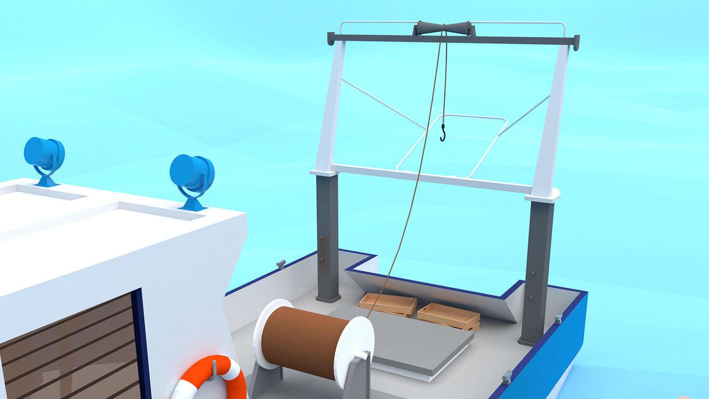 pixels can talk 3d pixel shrimp trawler 02