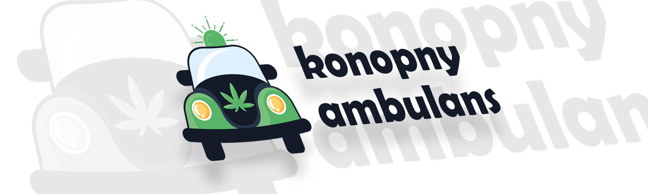 pixels can talk logo konopny ambulans big