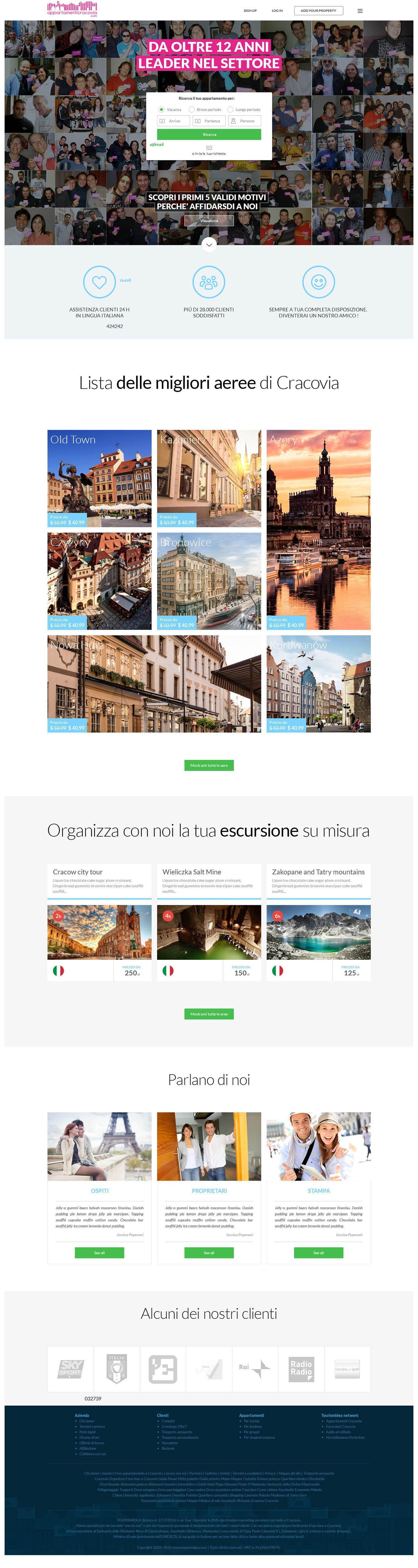 pixels can talk web appartamenti cracovia 02