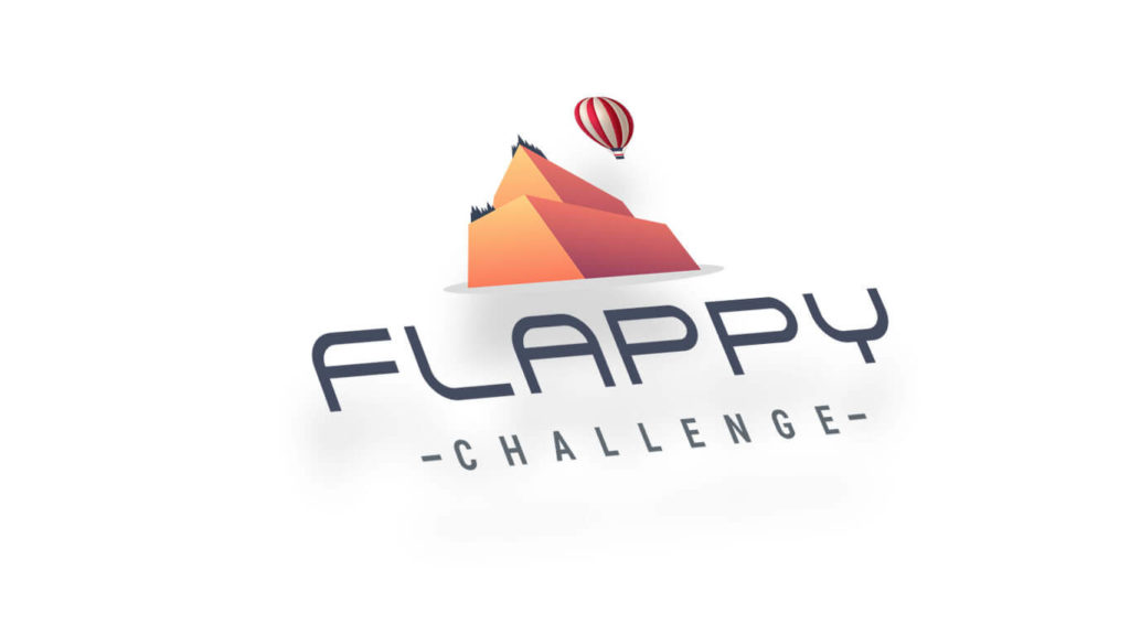 pixels logo flappy challenge 01