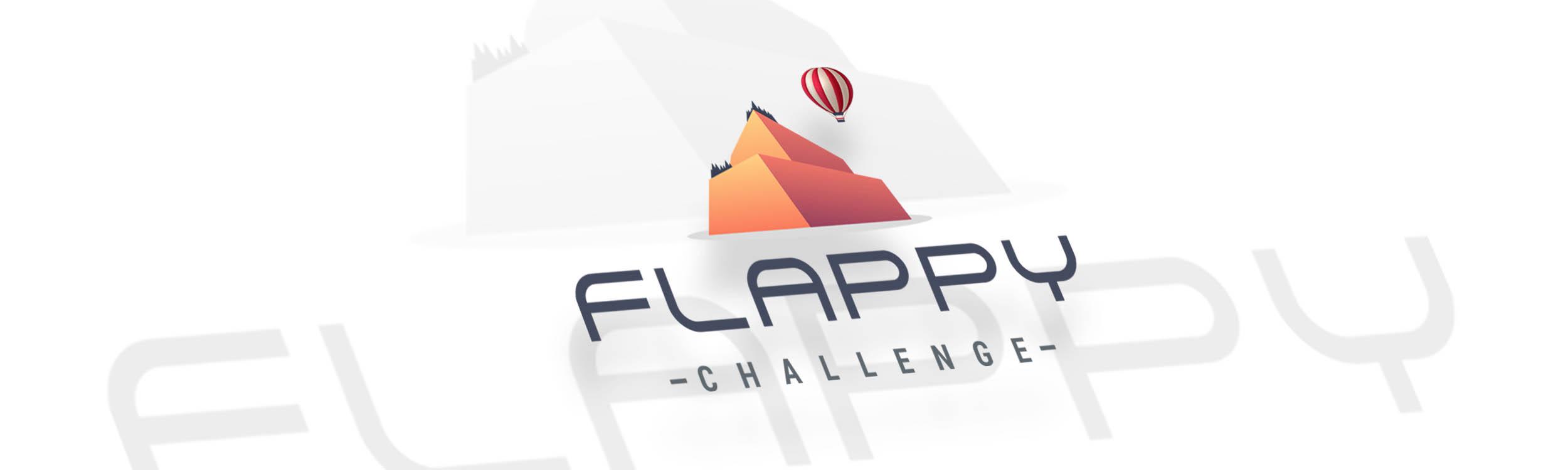 pixels logo flappy challenge big